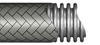 Pressureflex HP Corrugated Metal Hoses