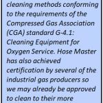 oxygen service metal hose
