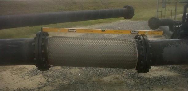 storage tank metal hose