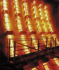 emergency service steel mill