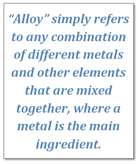 metal alloys decription