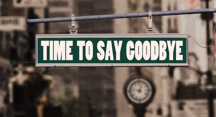 Is it time to say goodbye?