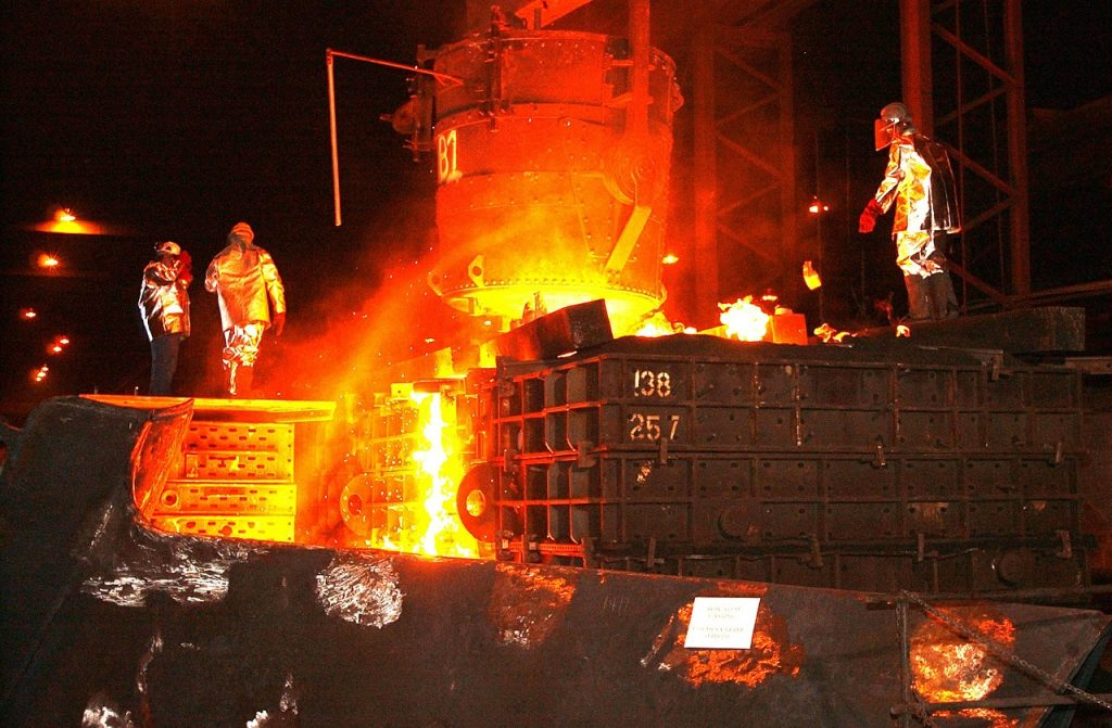 steel mill problem solving