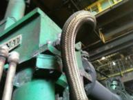 torqued cooling hose