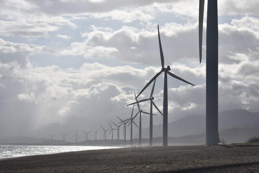 green energy wind mills